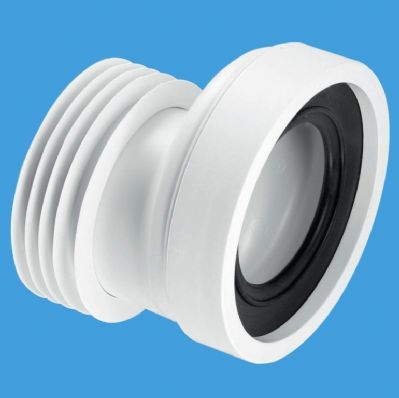 McAlpine Short 20mm Offset Toilet Pan Connector